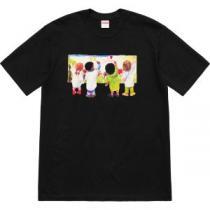 2019年春夏流行ファッション 大胆なデザイン シュプリーム SUPREME 半袖Tシャツ 多色可選