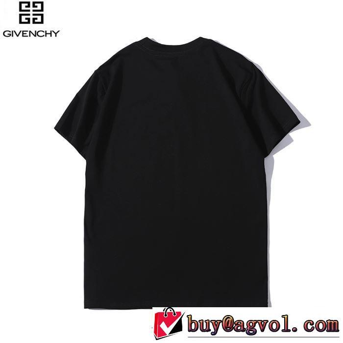 ジバンシー GIVENCHY 半袖Tシャツ 4色可選 男女兼用 2019年の夏のマスト 定番のスタイル春夏限定