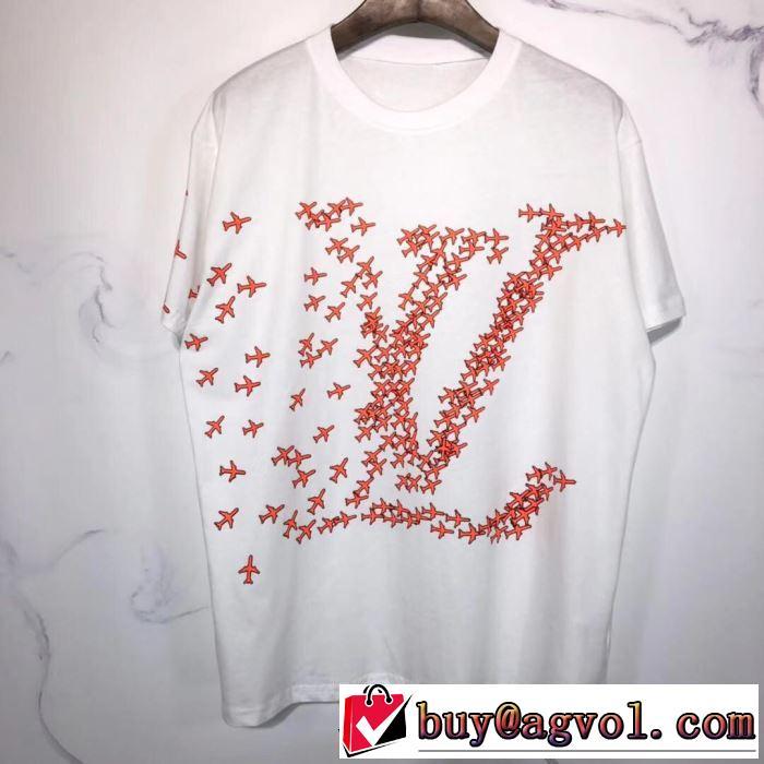 今なお素敵なアイテムだ 多色可選 ルイ ヴィトン今年の春トレンド  LOUIS VUITTON 半袖Tシャツ大人の新作こそ