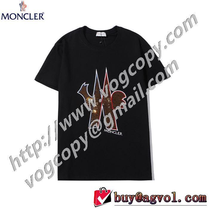 半袖Tシャツ 世界共通のアイテム 2色可選 モンクレール MONCLER 是非ともオススメしたい