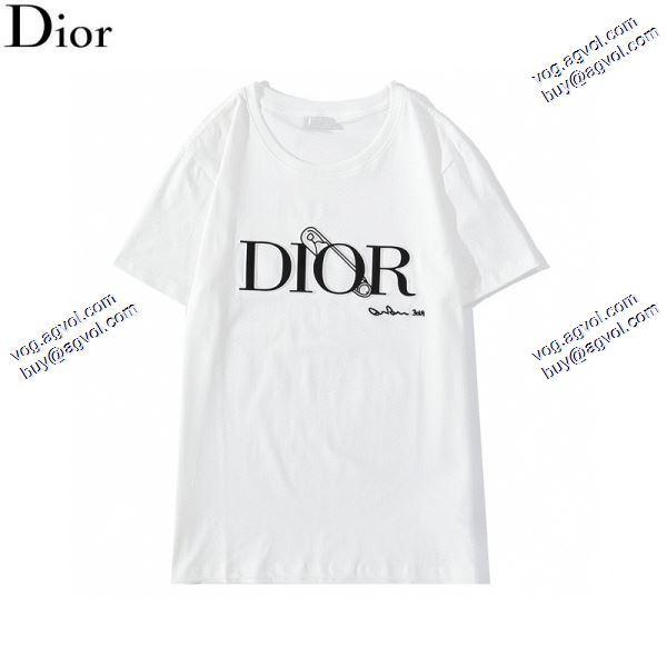 ディオール DIORお洒落な存在感 2020春夏新作 Tシャツ/半袖 2色可選高評価の人気品