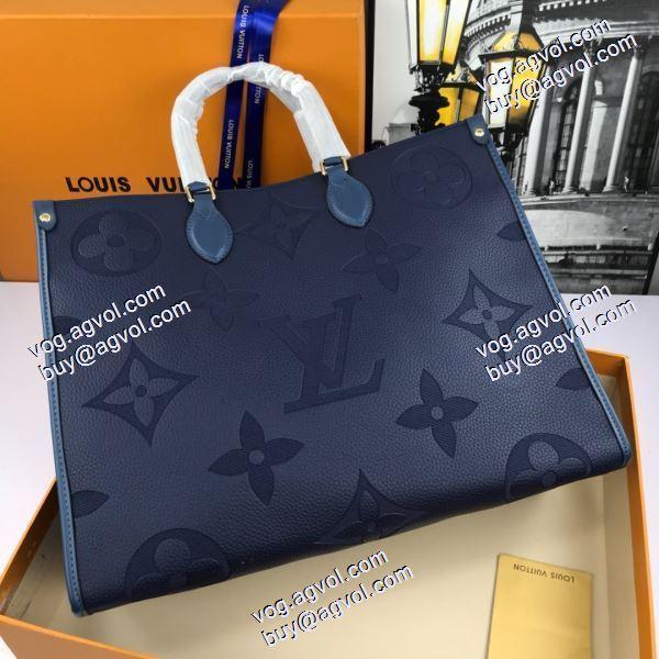 人気商品 ルイ ヴィトンスーパーコピー 激安  手持ち&ショルダー掛け LOUIS VUITTON コピー 2020AW  多色可選 レディースバッグSALE開催 ONTHEGO買い物袋のハンドバッグ M445713
