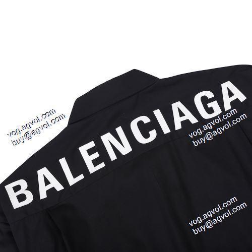 スーパー コピー メンズ:2021春夏 大件のおしゃれに バレンシアガ BALENCIAGA 長袖シャツ 2色可選 BALENCIAGAブランド コピー しわになりにくい