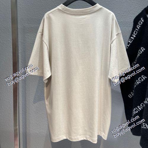 偽物 ブランド 販売:2021春夏 大好評 バレンシアガブランド コピー  BALENCIAGA 半袖Tシャツ 自分らしいスタイリング