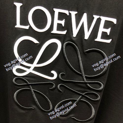 ブランド 偽物 激安:2021春夏 ロエベ LOEWE 半袖シャツ 2色可選 ロエベブランド 偽物 通販 ファション性の高い