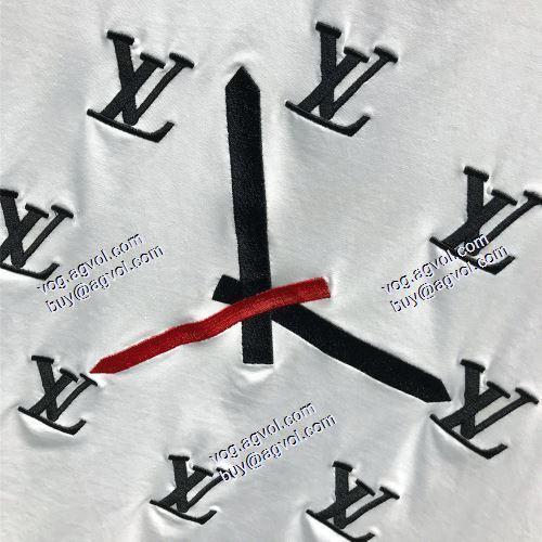 2021春夏  LOUIS VUITTONスーパーコピー 代引 個性派  2色可選  半袖シャツ  ルイ ヴィトン LOUIS VUITTON