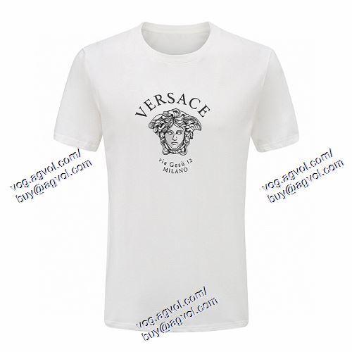 VERSACEスーパーコピー 存在感◎ ヴェルサーチVERSACE 2色可選 2021春夏 半袖Tシャツ