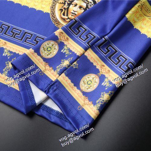 VERSACEスーパーコピー 2色可選 半袖Tシャツ ヴェルサーチVERSACE 2021春夏 高級感を引き立てる