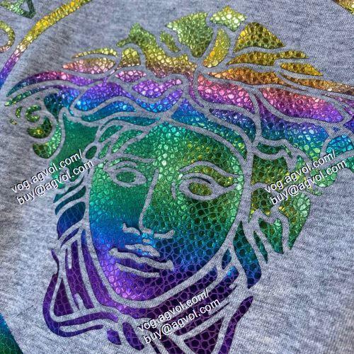 2021春夏 半袖Tシャツ VERSACEスーパーコピー 激安 大好評 3色可選 ヴェルサーチVERSACE