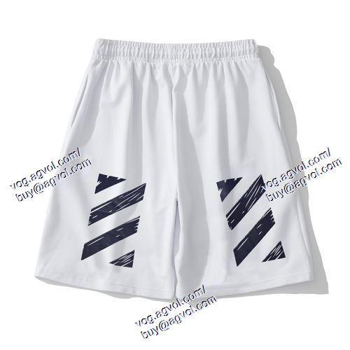 高級感ある   2色可選   OFF-WHITE オフホワイトコピー    ショートパンツ   2021春夏    OFF-WHITE オフホワイトスーパーコピー 代引