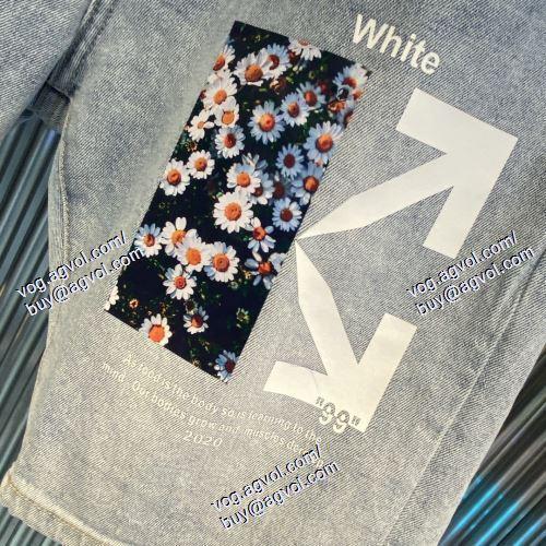 2021春夏   OFF-WHITE オフホワイトブランド 偽物 通販   売れ筋のいい   ショートパンツ    OFF-WHITE オフホワイトコピー
