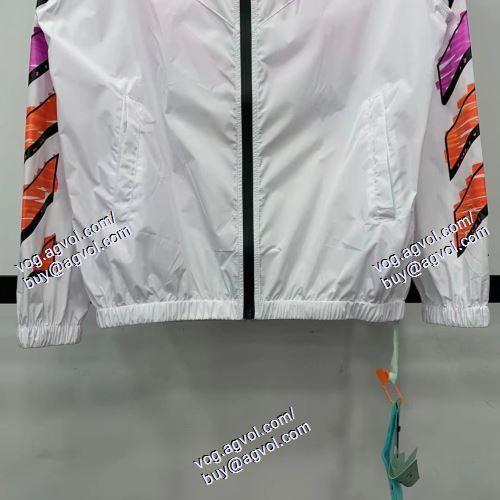 2色可選    OFF-WHITE オフホワイトコピー   ポップ   OFF-WHITE オフホワイトブランドコピー    トレーナーシャツ/ジャージ   2021春夏