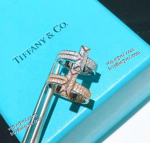 偽物 ブランド 販売:ティファニー Tiffany&Co 2021春夏 リング/指輪 2色可選 ティファニー ブランドスーパーコピー オリジナル