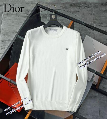 圧倒的な高級感 2021秋冬 ディオールブランドコピー セーター 2色可選 適度な厚み ディオール DIOR