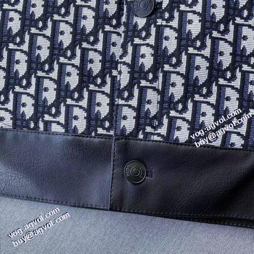 ディオールコピーブランド ジャケット 秋のお出かけに最適 プリント柄 人目を惹くデザイン 2021秋冬 ディオール DIOR