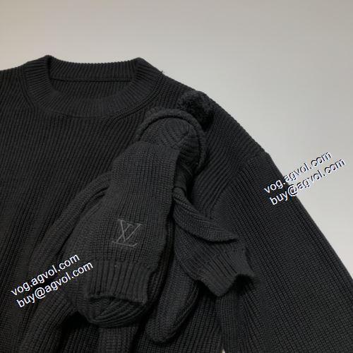 セーター 大好評 2021秋冬 ルイ ヴィトン LOUIS VUITTON 高級感ある ルイ ヴィトンスーパーコピー