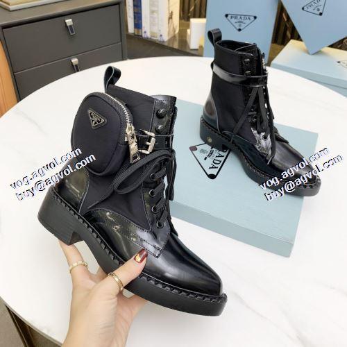 プラダ PRADA 2色可選 プラダブランド コピー 安定感のある レザーシューズ靴 2021秋冬 耐久性に優れ コスパ最高のプライス