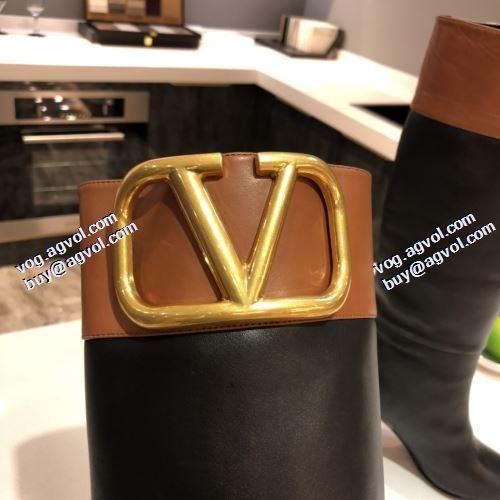 編上げ靴タイプ 2021秋冬 ビット付き 4色可選 ヴァレンティノ VALENTINO ウィンターシューズ 今買い◎得 ヴァレンティノコピー 滑りにくい